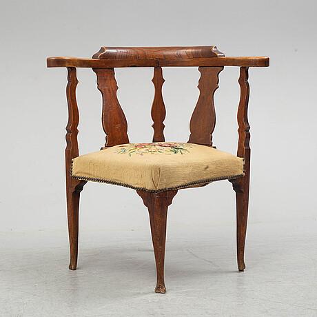 An 18th century chair.