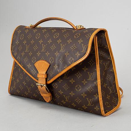 A monogram canvas 'bel air' briefcase.