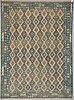 A carpet, kilim, ca 399 x 295 cm.