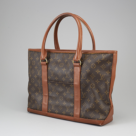 Louis vuitton, 'sac weekend' bag, early 1980's.
