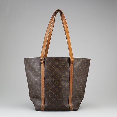 """Louis vuitton, väska, """"sac shopping""""."""