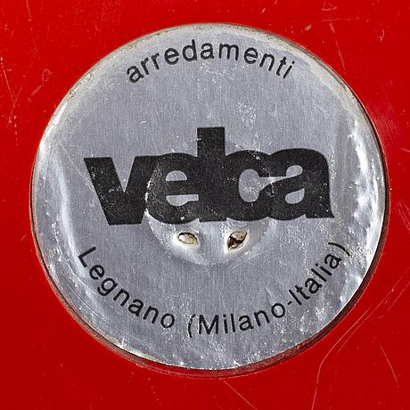 """Roberto lucci & paulo orlandini, """"vip coat rack"""", for velca legnano 1970's."""