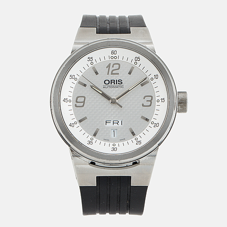 Oris, williams f1 day date, armbandsur, 40 mm.