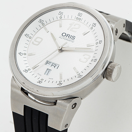 Oris, williams f1 day date, wristwatch, 40 mm.
