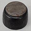 An iron stamp.
