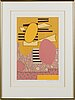 Sam vanni, serigraph. signed and dated -78, h.c. (hors commerce).