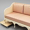 A rococo style sofa, mid 20th century.
