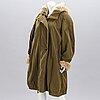 A grünstein fur lined coat.