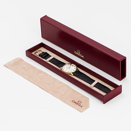 Omega, genève, armbandsur, 34.5 mm.