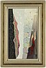 Waldemar lorentzon, oil on panel, signed.