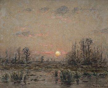 390. Per Ekström, Landscape from France.