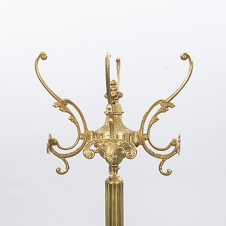 A second half of the 20th century brass coat hanger.