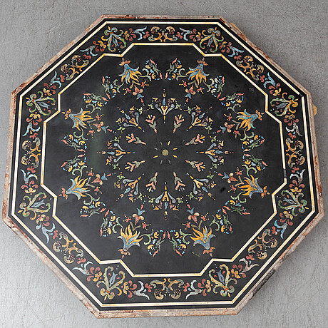 A table top, probably italy, 20th century.