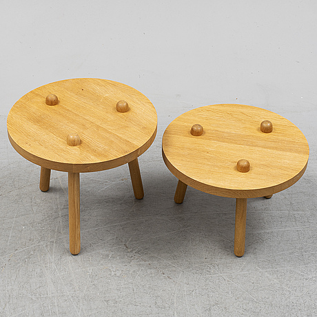 Two 20th century sofa tables.