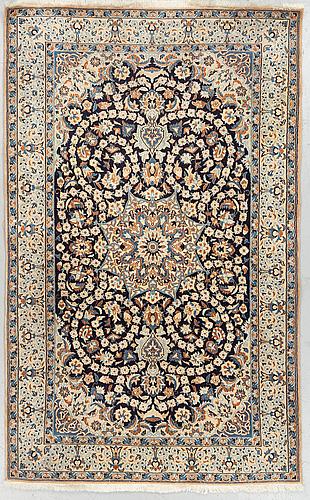 A rug, old nain, ca 201 x 129 cm.