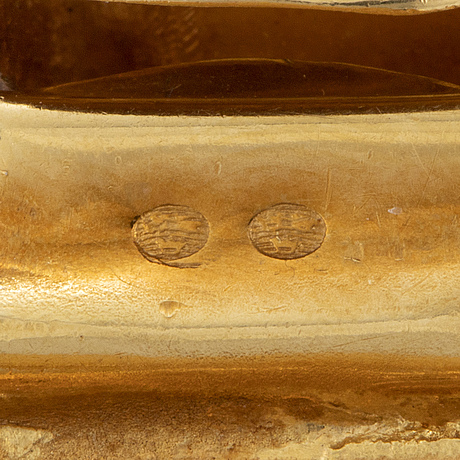 18k three coloured gold bracelet, italy.