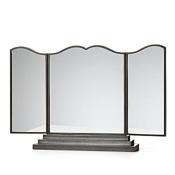 266. Firma Svenskt Tenn, a pewter triple mirror, Svenskt Tenn, Stockholm 1929.