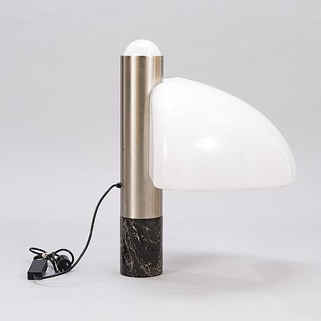A mazza sergio and gramigna giuliana table lamp for quattrifolio, italy.