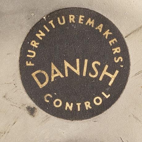 """Arne jacobsen, """"sjuan"""", kontorsstol, fritz hansen, danmark, 1900-talets mitt."""
