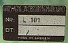 Hans-agne jakobsson, fotogenlampor 2 st markaryd 1900-talets senare del.