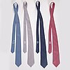 HermÈs, four silk ties.