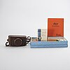 A chrome leica iii no 266914 from 1937, elmar f=5 cm 1:3,5, litterature etc.