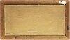 Alfonso muzii, oil ob canvas/paper-panel, signerad.