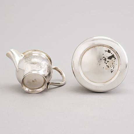 Sokerikko ja kermakko, hopeaa, ivan saltykov ja fedor gorbunov, moskova 1882-1899.