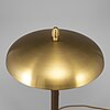 Einar bÄckstrÖm, a model 5013 brass table light, 1940's.