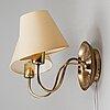 Josef frank, a '2565' wall lamp, firma svenskt tenn.