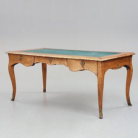 The carl linnaeus' writing desk. swedish rococo, mid 1700's.