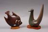 Figuriner, 2 st, stengods, gunnar nylund, rörstrand.
