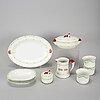 Eleven porcelain pieces 'jul' and 'god jul', gustavsberg and rörstrand.