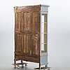 A painted cabinet, 20th century.