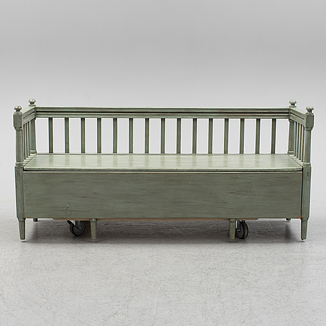 Sofa, first half of the 19th century.