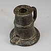 A 16th century bronze salut cannon.