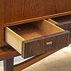 A teak and rosewood veneered cabinet, 1950's/60's.