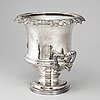An english plate champagne cooler, 19th/20th century.