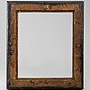 An 18th century wooden frame.