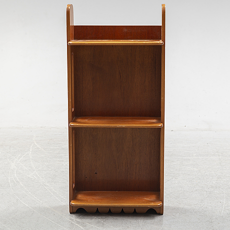 Josef frank, a model 2085 mahogany shelf, svenskt tenn, sweden.