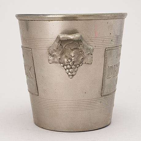 A delbeck champagne cooler, reims france.
