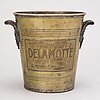A delmotte champagne cooler, france mid-20th century.