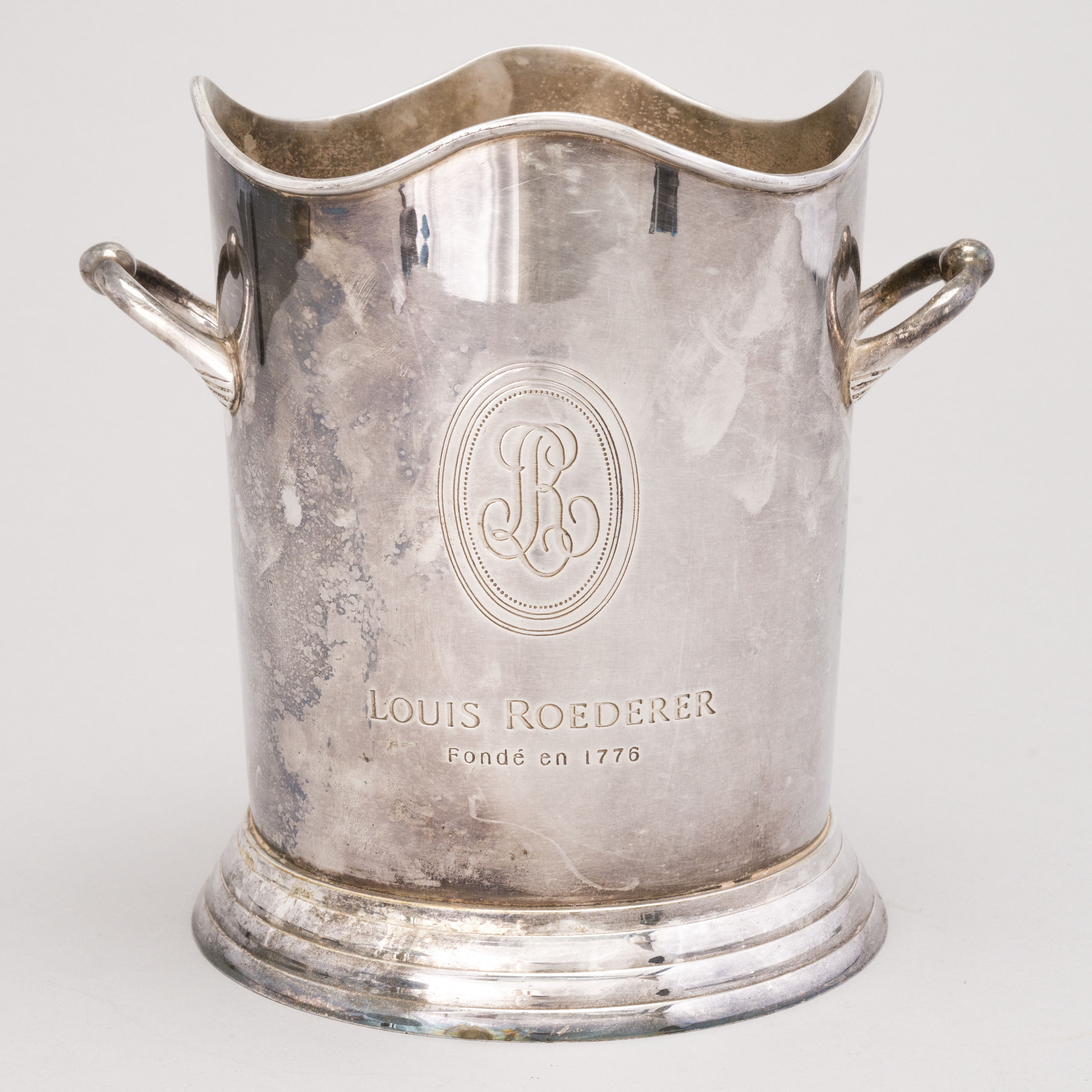 A Late 20th Century Champagne Cooler For Louis Roederer Frankrike Bukowskis