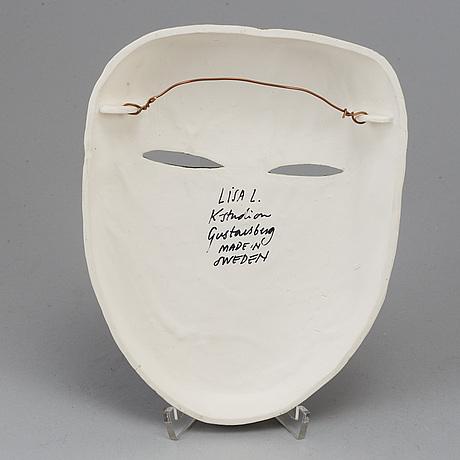 Lisa larson, mask, stengods, k-studion, gustavsberg.