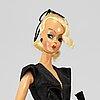 A german bild-lilli doll from 1955-1964.
