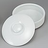 Tapio wirkkala, a part 'variation' dinner porcelain service, rosenthal studio-line, 1960s (55 pieces).