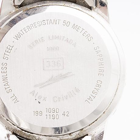 Certina kurth frères alex crivillé armbandsur 38 mm 1997.