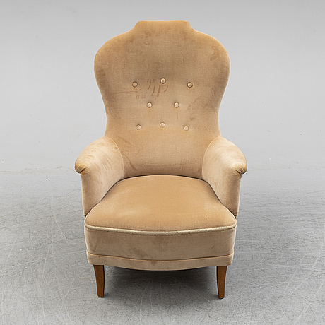 A 'farmor' easy chair by carl malmsten.