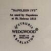 """Wedgewood, servis, """"napoleon ivy (queen's ware"""", 10 dlr, flintgods."""