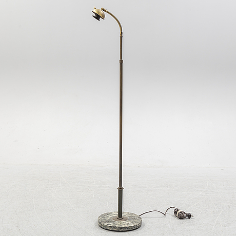 A 1930's art déco floor lamp.